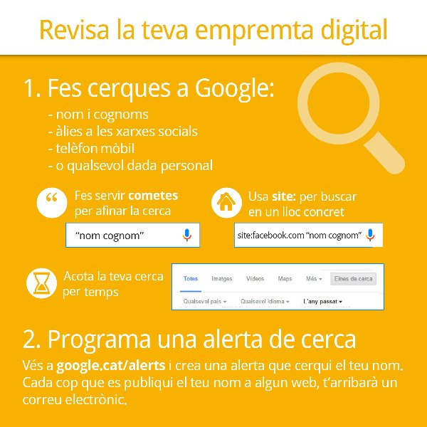 Revisa la teva empremta digital