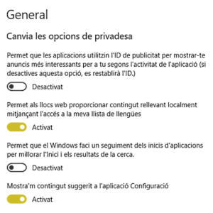 privadesa windows10